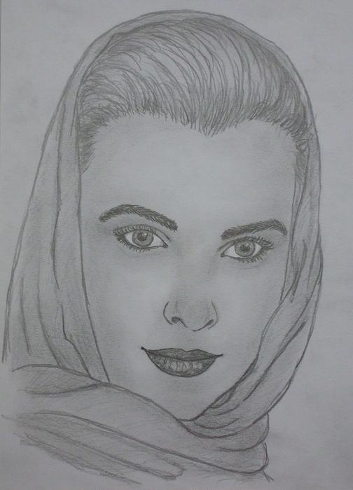 Grace Kelly por kendzik
